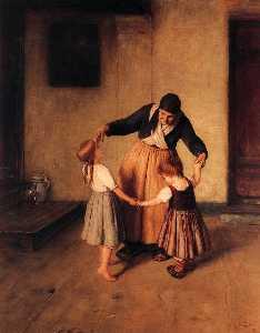 Grandma and Children