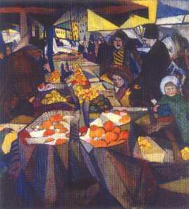 Sennoy market. Kiev.