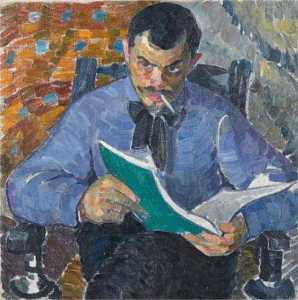 Portrait of the painter Burdanov