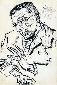 Portrait of Karl Kraus