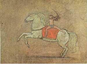A horsewoman