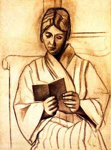 Woman reading (Olga)
