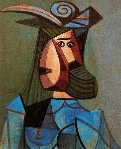 Portrait of woman (Dora Maar)