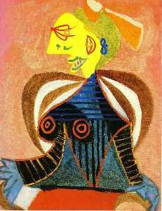 Portrait of Lee Miller as Arlesienne