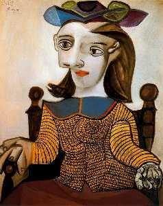 The yellow shirt (Dora Maar)