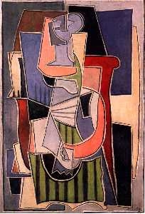 Woman sitting in an armchair (11)