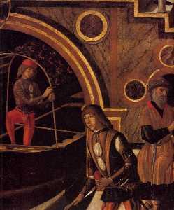 The Miraculous Healing of the Daughter of Benvegnudo of San Polo (detail)