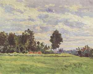Landscape in the Ile de France