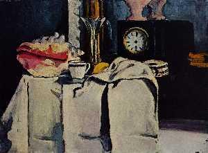 The Black Marble Clock
