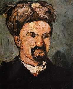 Portrait of Uncle Dominique in a Turban