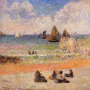 Bathing, Dieppe
