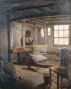 The Breton Weaver