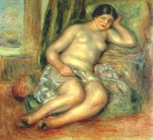 Sleeping Odalisque (Odalisque with Babouches)