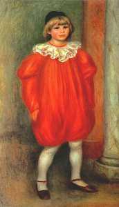 The Clown (Claude Ranoir in Clown Costume)