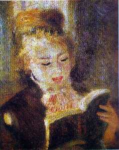 The Reader (Young Woman Reading a Book)