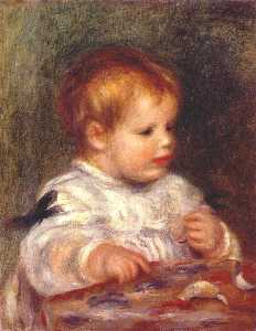 Jacques fray as a baby