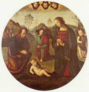 Birth of Christ, Tondo