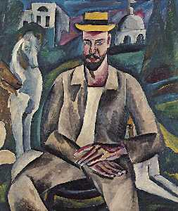 Portrait of the Artist Vladimir Rozhdestvensky