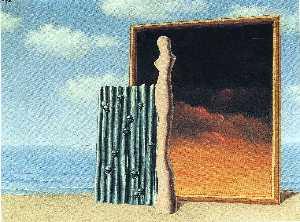 Composition on a seashore