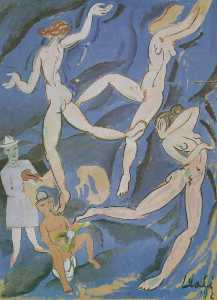 Satirical Composition ('The Dance' by Matisse)