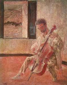Portrait of the Cellist Ricard Pichot