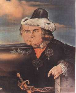 Portrait of Laurence Olivier in the Role of Richard III