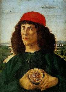 Portrait of a Man with the Medal of Cosimo