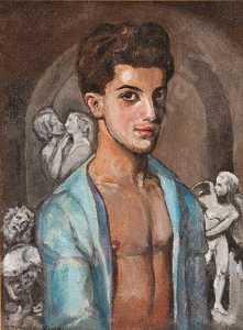 "Portrait of Leonide Massine in ""The Legend of Joseph"""