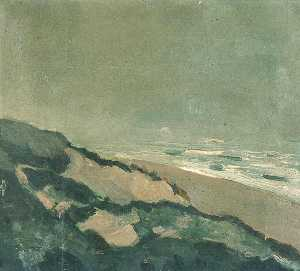 Dunes and sea