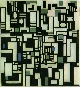Composition IX, opus 18, 1917