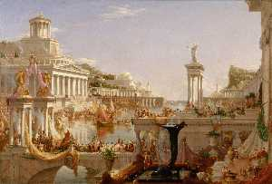 The Course of Empire: The Consummation of the Empire