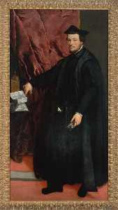 Portrait of Cardinal Cristoforo Madruzzo