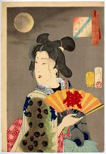 The Appearance of a Brothel Geisha of the Koka Era