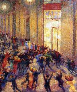 Riot in the Galleria