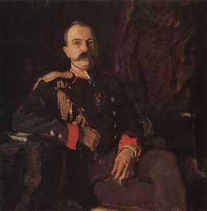 Portrait of Grand Duke Georgy Mikhailovich