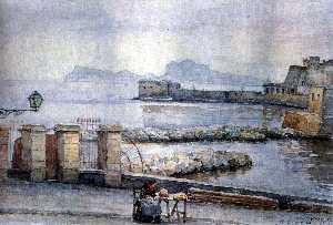 Naples. Enbankment.