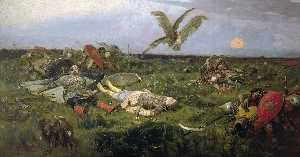 After Prince Igor`s Battle with the Polovtsy