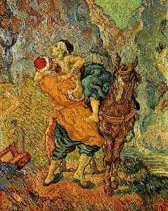 The Good Samaritan, after Delacroix