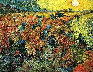 Red Vineyards at Arles
