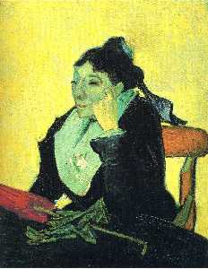 Portrait of Madame Ginoux (L'Arlesienne)