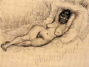 Study for Reclining Female Nude