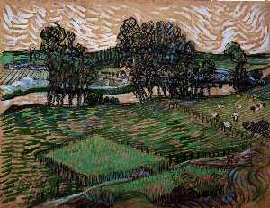 Landscape with Bridge across the Oise