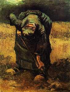 Peasant Woman Digging