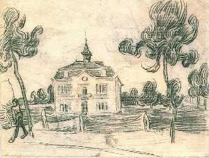 The Town Hall at Auvers