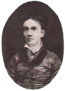 Portrait possibly of Willemien van Gogh