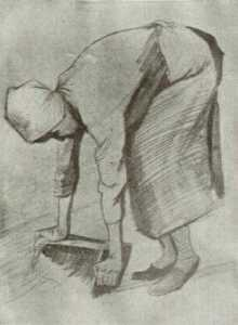 Bending Woman