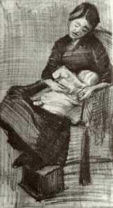 Sien Nursing Baby