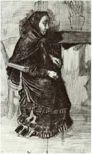 Woman in a Dark Dress (Sien's Mother)