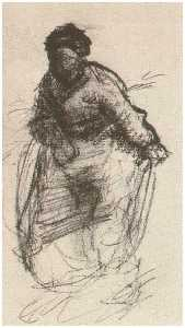 Peasant Woman, Walking