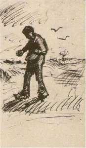 Sower Facing Left